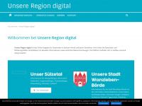 unsere-region-digital.de Thumbnail