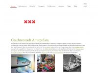 amsterdam-blog.de Webseite Vorschau