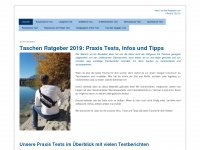 taschen-ratgeber.com Webseite Vorschau