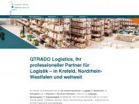 qtrado-logistics.de Webseite Vorschau
