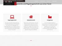 kira-gst.de Webseite Vorschau