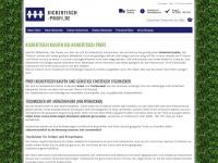 kickertisch-profi.de Webseite Vorschau