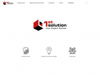 1st-solution-group.com Webseite Vorschau