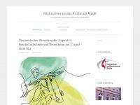 kircheammarkt.wordpress.com Webseite Vorschau