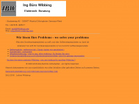 lotharwibbing.de Webseite Vorschau