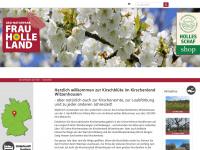 kirschbluetefrauholle.land Webseite Vorschau