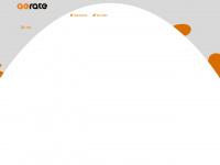 aerate.de Webseite Vorschau
