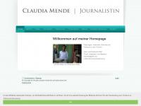 claudia-mende.de