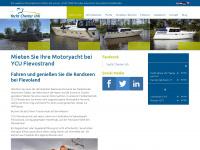 ycu-hausbootmieten.de Webseite Vorschau