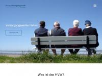 hvw-hu.de Webseite Vorschau