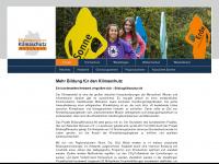 16bildungszentrenklimaschutz.de Webseite Vorschau