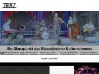 triaz-band.de Webseite Vorschau