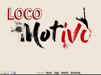 locomotivo.band Webseite Vorschau