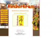 kinderkram-potsdam.de Webseite Vorschau
