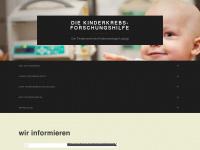 kinderkrebsforschungshilfe.de Webseite Vorschau