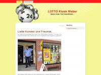 lotto-kiosk-weber.de Webseite Vorschau