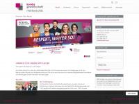 komba-rp.de Webseite Vorschau