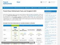 french-door-kuehlschrank.de Webseite Vorschau