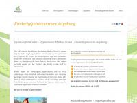 kinderhypnose-augsburg.de Webseite Vorschau