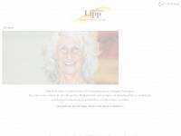 physiotherapie-lipp.de Webseite Vorschau
