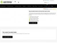 amsterdamseedcenter.com Webseite Vorschau