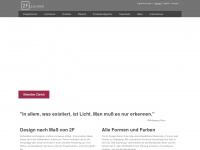 2f-leuchten.com Webseite Vorschau