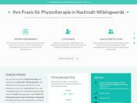 physiotherapie-nachrodt.de Webseite Vorschau