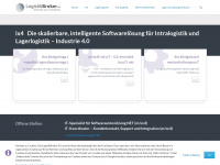 logistikbroker.com Webseite Vorschau