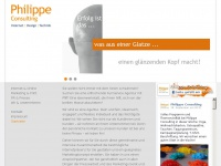 philippe.de Webseite Vorschau