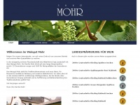 1640mohr.de Webseite Vorschau