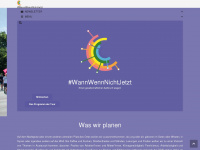 wannwennnichtjetzt.org Webseite Vorschau