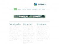 zubaka.de Webseite Vorschau