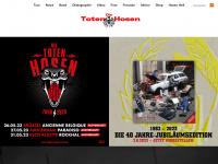 dietotenhosen.de Webseite Vorschau