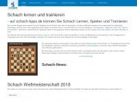 schach-tipps.de Webseite Vorschau