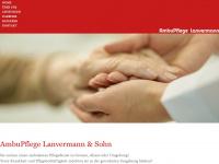 ambu-pflege.de Webseite Vorschau