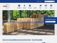 kipa-paletten.de Webseite Vorschau