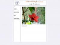 physio-movere.de Webseite Vorschau