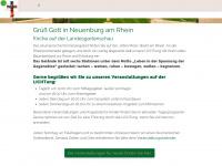 kirche-lgs.de Webseite Vorschau