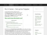 bio-im-garten.de Webseite Vorschau