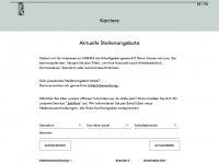 oqema-jobs.com Webseite Vorschau