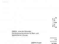 oqema.ch Webseite Vorschau