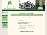 gruenerbaumka.de Webseite Vorschau