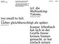 iyf.ch Webseite Vorschau