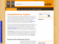 Hoergeraetebatterien-vergleich.de