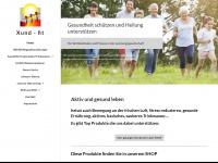 xund-fit.ch Webseite Vorschau