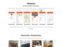 climberino.de Webseite Vorschau