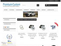 premium-custom.com Webseite Vorschau