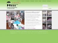 kindershop-hess.de Webseite Vorschau