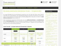 beste-elektrische-zahnbuerste.de Webseite Vorschau