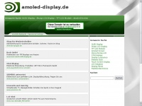 amoled-display.de Webseite Vorschau